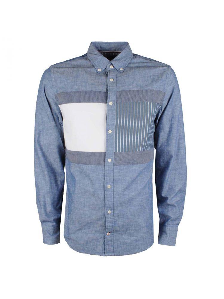 Koszula Tommy Hilfiger- patchwork
