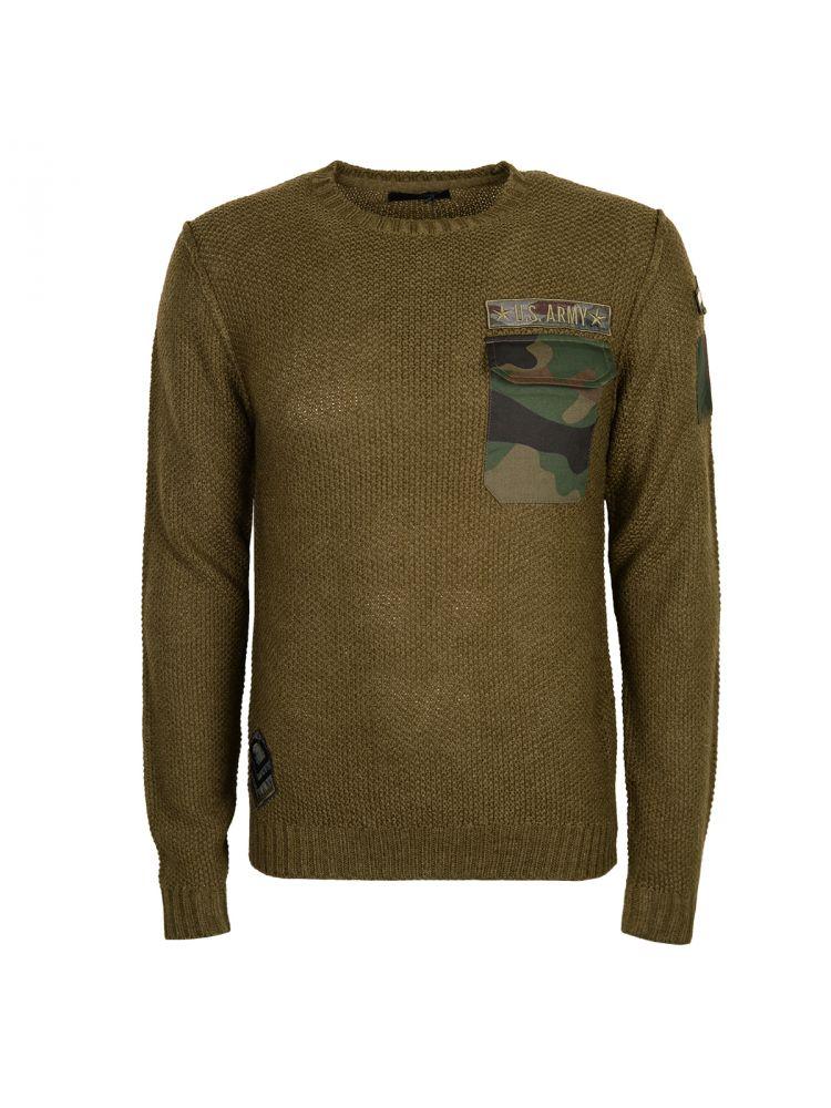 Xagon Man sweter Military